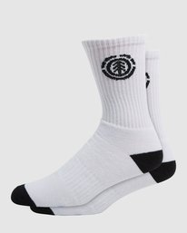 0 Element Sports Socks White 166694 Element
