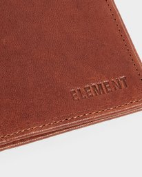 5 CHIEF LEATHER WALLET Brown 174571 Element