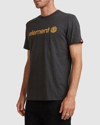 2 HORIZON SHORT SLEEVE TEE Black 183001 Element