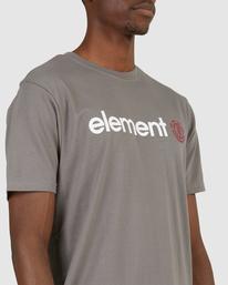4 HORIZON SHORT SLEEVE TEE Grey 183001 Element