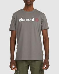 1 HORIZON SHORT SLEEVE TEE Grey 183001 Element
