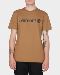 0 HORIZON SHORT SLEEVE TEE Yellow 183001 Element