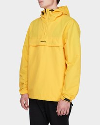 3 ORION ANORAK JACKET Yellow 183456 Element