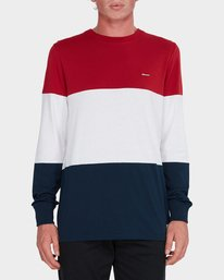 0 Fos Long Sleeve Tee Red 184053 Element