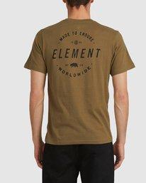3 CROSSED SHORT SLEEVE TEE  186037 Element