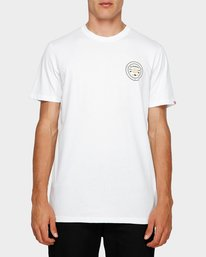 0 Know Your Roots Short Sleeve Tee White 193001 Element