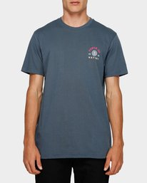0 Force Of Nature Short Sleeve Tee Blue 193004 Element