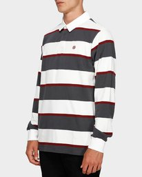 2 Chasin It Rugby Long Sleeve Polo  193151 Element