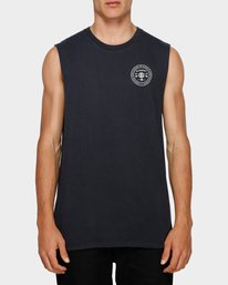 0 Know Your Roots Muscle Tee Black 193272 Element