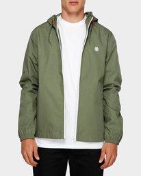 0 Alder Light Jacket Green 193451 Element