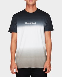 0 Fade Out Ss Tee Black 194004 Element