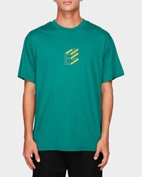 0 DIMENSION SS TEE Green 194017 Element