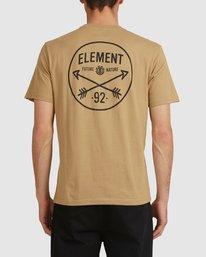 3 NYCA ENDURE SHORT SLEEVE TEE Green 194020 Element