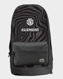0 Warped Backpack Black 194481 Element