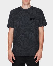 0 GRIFFIN LEAF CAMO SS TEE Black 196031 Element