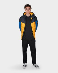 4 GRIFFIN LIGHT DOWN PUFFA JACKET Yellow 196466 Element