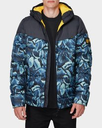0 GRIFFIN LIGHT DOWN PUFFA JACKET Black 196466 Element