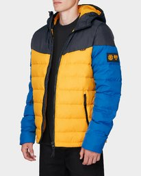 2 GRIFFIN LIGHT DOWN PUFFA JACKET Yellow 196466 Element