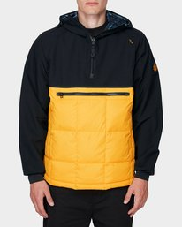 0 GRIFFIN LIGHT DOWN HOODIE Yellow 196469 Element