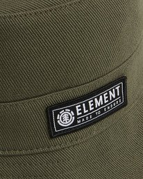 4 BENNY BUCKET HAT Green 202601 Element