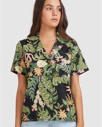 0 So Tropical Shirt Black 205214 Element