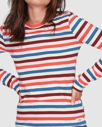 3 CANDY CANE LONG SLEEVE TEE Red 207051 Element