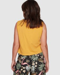 1 SWEET THING CROPPED TANK TOP Yellow 207271 Element