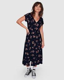 3 Living Easy Dress Blue 207864 Element