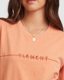 4 LANE SHORT SLEEVE TEE Orange 217004 Element