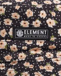 4 DITSY REVERSIBLE BUCKET HAT Black 217601 Element