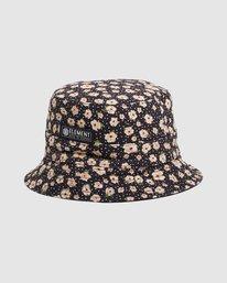 1 DITSY REVERSIBLE BUCKET HAT Black 217601 Element