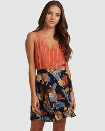 0 Amelie Tropical Skirt Black 217851 Element