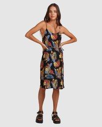 0 Amelie Tropical Dress Black 217861 Element