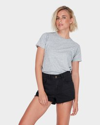 0 NIGHT FEVER DENIM SHORT Black 283363 Element
