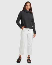 10 COZY NIGHTS KNITTED SWEATER White 283421 Element