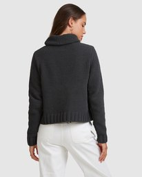 3 COZY NIGHTS KNITTED SWEATER White 283421 Element