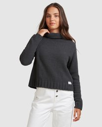 1 COZY NIGHTS KNITTED SWEATER White 283421 Element