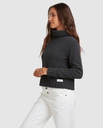 2 COZY NIGHTS KNITTED SWEATER White 283421 Element