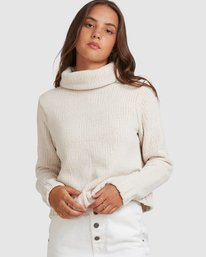 0 COZY NIGHTS KNITTED SWEATER Grey 283421 Element