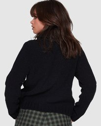 7 COZY NIGHTS KNITTED SWEATER White 283421 Element