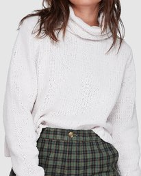 8 COZY NIGHTS KNITTED SWEATER Grey 283421 Element