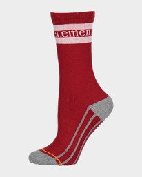 0 Red Stripe Sports Sock Red 283693 Element