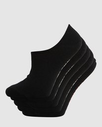0 ELEMENT NUDIE SOCK 5 PACK Black 284653 Element