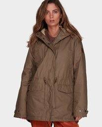 0 MISTY JACKET Green 286304 Element