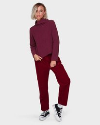 0 ROSABELLA PANT Red 288243 Element