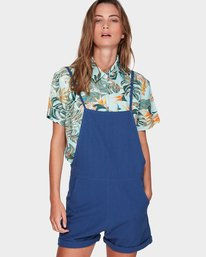0 COME TOGETHER ONESIE PLAYSUIT Blue 294878 Element
