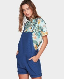 2 COME TOGETHER ONESIE PLAYSUIT Blue 294878 Element