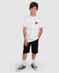 4 YOUTH CAT CLAW SHORT SLEEVE TEE White 302002 Element
