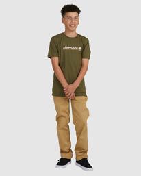 4 YOUTH HORIZONTAL SHORT SLEEVE TEE Green 383001 Element
