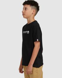 1 YOUTH HORIZONTAL SHORT SLEEVE TEE Black 383001 Element